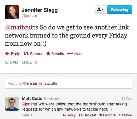jennifer-slegg-matt-cutts-link-networks-tweets