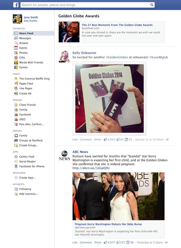 facebook-trending-golden-globe-awards