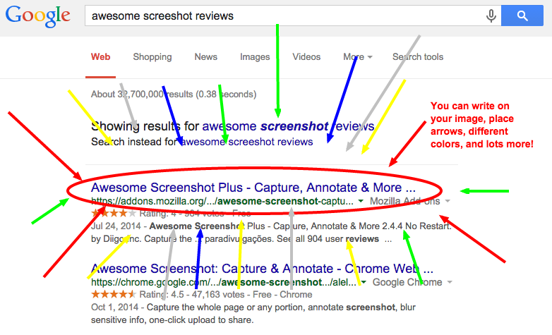 awesome-screeshot-reviews-Google-Search